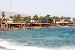 Promenade in Dahab Royalty Free Stock Photos