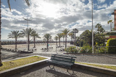 Promenade dans Calheta Photo stock