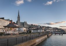 Promenade dans Cobh Irlande Photo libre de droits