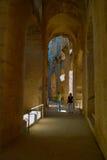 Promenade dans l'amphithéâtre Image stock