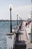 'promenade' de Arrecife Fotos de archivo