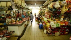 Promenade de Ben Thanh Market - Ho Chi Minh City (Saigon) Vietnam clips vidéos