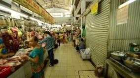 Promenade de Ben Thanh Market - Ho Chi Minh City (Saigon) Vietnam banque de vidéos