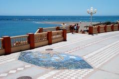 'promenade' de Benalmadena Imagenes de archivo