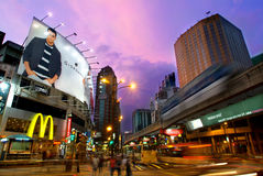 Promenade de Bintang Photographie stock libre de droits