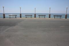 Promenade de Bordighera Italie image stock