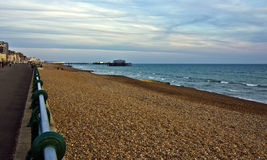 Promenade de Brighton Photo libre de droits