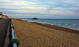 Promenade de Brighton Photo libre de droits