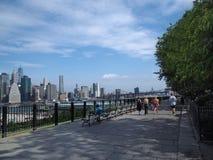 'promenade' de Brooklyn Heights Imágenes de archivo libres de regalías