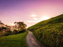 Promenade de chemin de montagne Photographie stock libre de droits