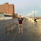 Promenade de Coney Island Images stock