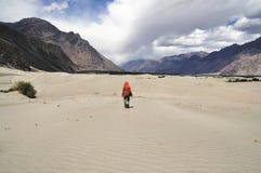 Promenade de désert Images stock
