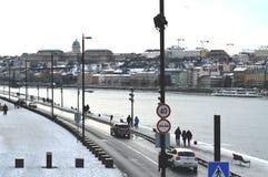 Promenade de Danube Image stock