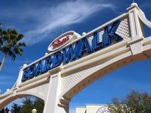Promenade de Disney Photos libres de droits