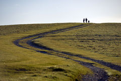 Promenade de Downland image libre de droits