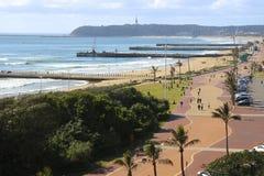 'promenade' de Durban Foto de archivo libre de regalías