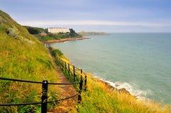 Promenade de falaise Photo libre de droits