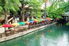 Promenade de fleuve à San Antonio image libre de droits