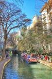 Promenade de fleuve à San Antonio, le Texas photo libre de droits