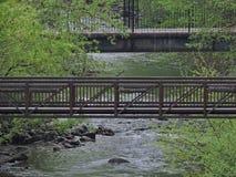 Promenade de fleuve Photographie stock libre de droits