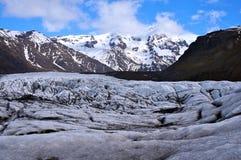 Promenade de glacier Photographie stock libre de droits