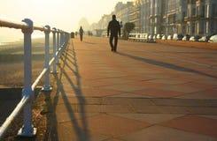 Promenade de Hastings Photos libres de droits