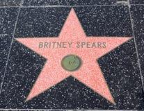 Promenade de Hollywood de la renommée Photo stock