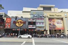Promenade de Hollywood des étoiles à Los Angeles Photographie stock libre de droits