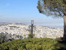 Promenade de Jérusalem Haas la lanterne 2010 Images stock