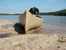 Promenade de kayak Image libre de droits