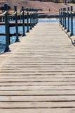 'promenade' de la calzada de la playa, bahía de Coraya, Egipto fotografía de archivo