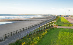 'promenade' de la costa de Aberdeen Imagen de archivo libre de regalías