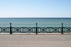 'promenade' de la orilla del mar. Brighton. Reino Unido Fotografía de archivo libre de regalías