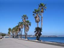 'promenade' de la playa Fotografía de archivo libre de regalías