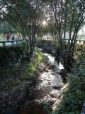 Promenade de la rivière photographie stock
