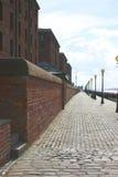 'promenade' de Liverpool foto de archivo libre de regalías