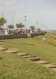 Promenade de Mar del Plata Images stock