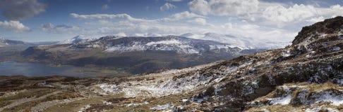 Promenade de montagne Image libre de droits