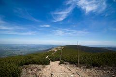 Promenade de montagnes Photos libres de droits