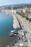 'promenade' de Nápoles imágenes de archivo libres de regalías