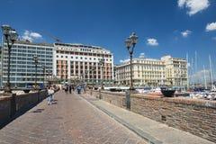 'promenade' de Nápoles, Italia Fotografía de archivo