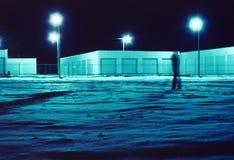 Promenade de nuit Photos libres de droits