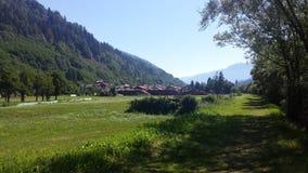 Promenade de Pellizzano - Trentino, Italie Image stock