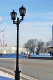 Promenade de personnes à Moscou Kremlin Photo couleur Photographie stock libre de droits