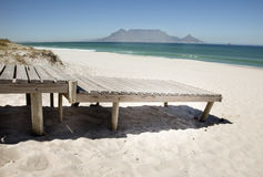 Promenade de plage image libre de droits