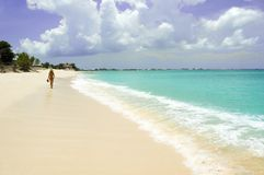Promenade de plage
