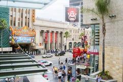 Promenade de rue de renommée à Los Angeles la Californie Etats-Unis Images libres de droits