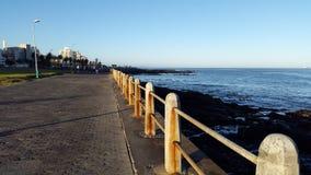 'promenade' de SeaPoint Fotografía de archivo