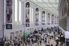 Promenade de stade de Yankees Image stock