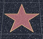 Promenade de star d'Hollywood illustration de vecteur